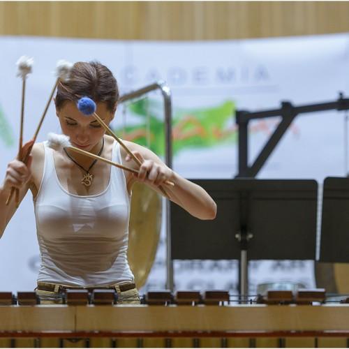 Irina Radulescu,  Violin vs. Percussion, ICon Arts 2015