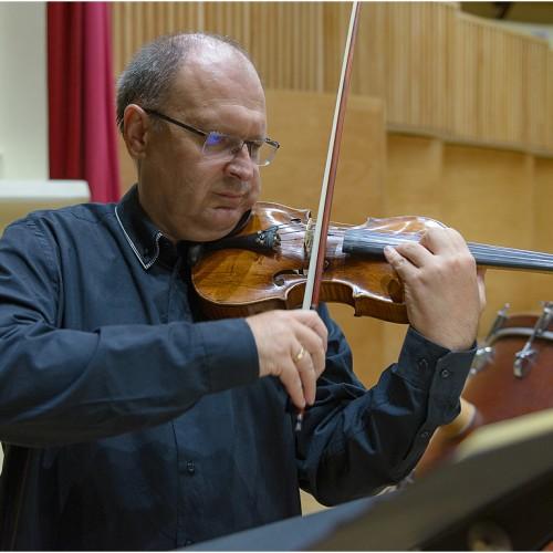 Ladislau Csendes,Violin vs. Percussion, ICon Arts 2015