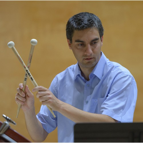 Andrei Marcovici,Violin vs. Percussion, ICon Arts 2015