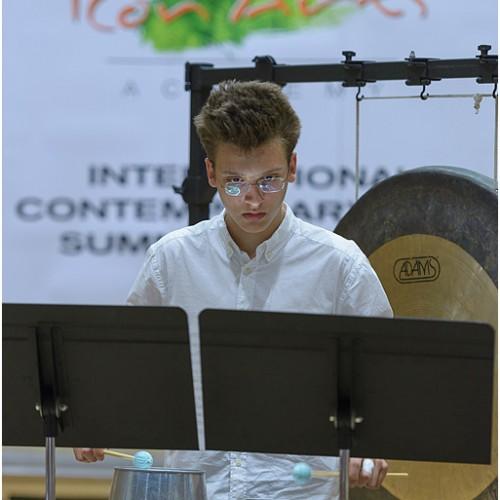 Alexandru Munteanu,Violin vs. Percussion, ICon Arts 2015