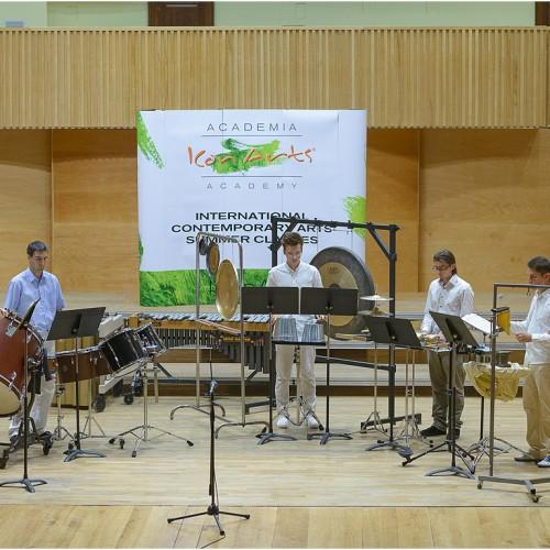 Violin vs. Percussion, ICon Arts 2015
