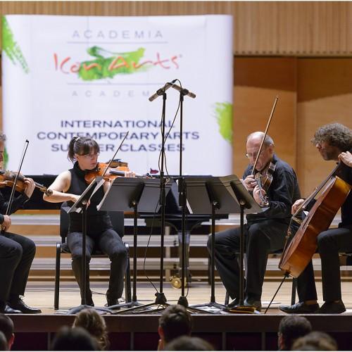 ICon Arts 2015, Concertul compozitorilor in rezidenta, Cvartetul Contempo