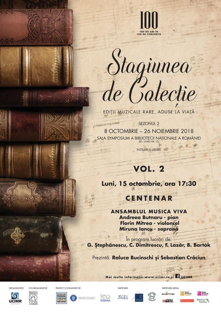 Poster VOL2 Stagiunea de Colectie