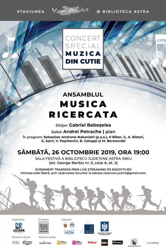 Poster MUZICA DIN CUTIE_161019