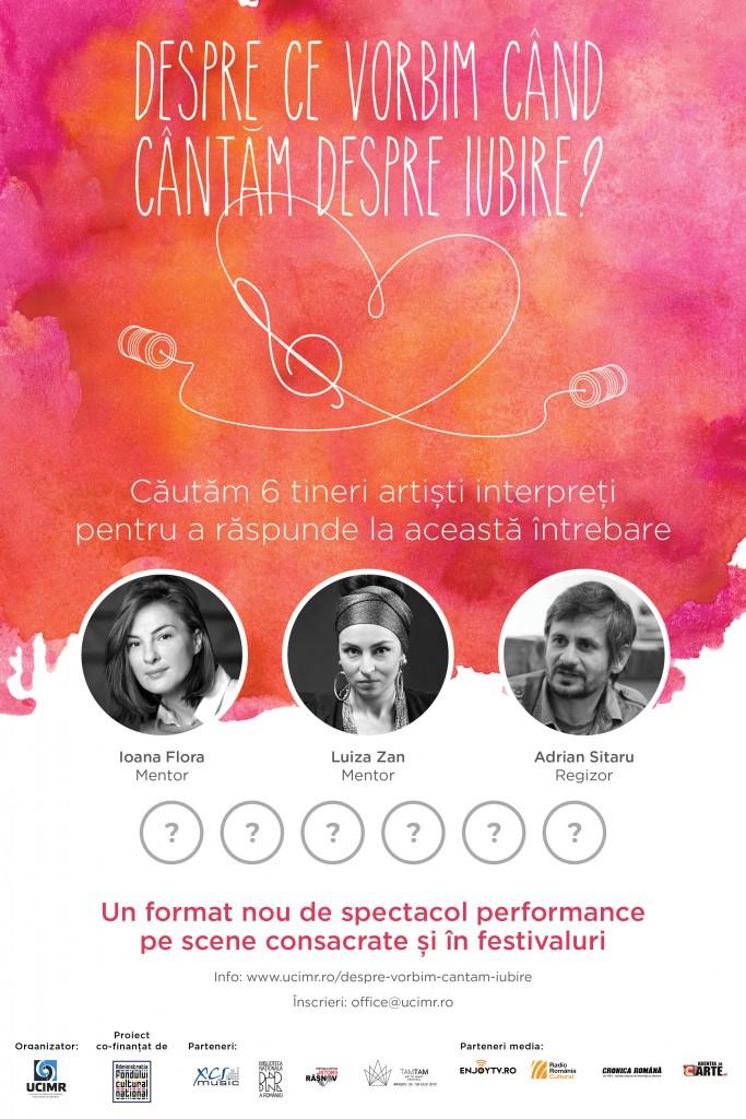 Poster - Despre ce vorbim cand cantam despre iubire_300320