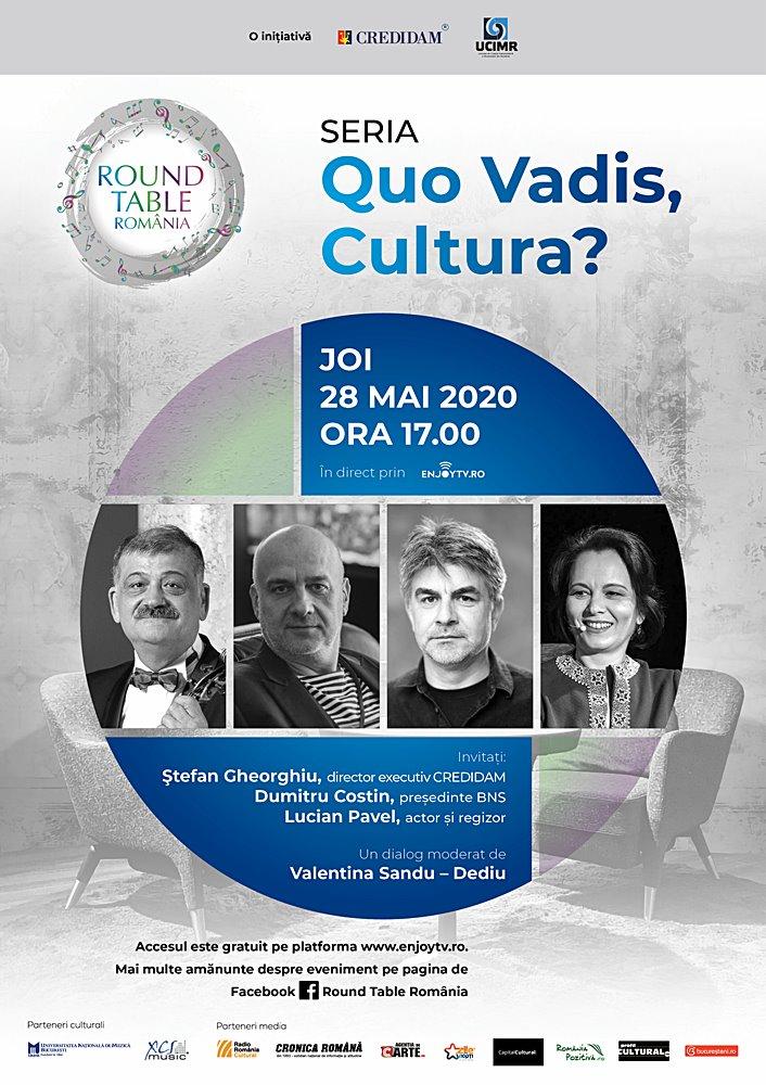 Poster Quo Vadis Cultura - Round Table