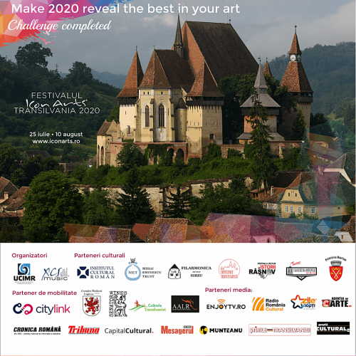 Poster Festivalul ICon Arts2020
